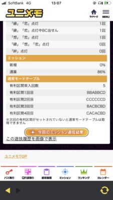 モード 絆 テーブル 2