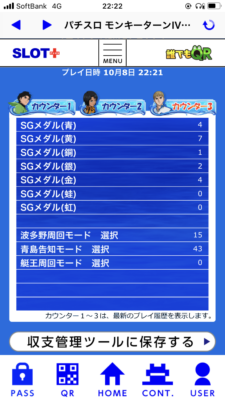 ターン メダル モンキー 4